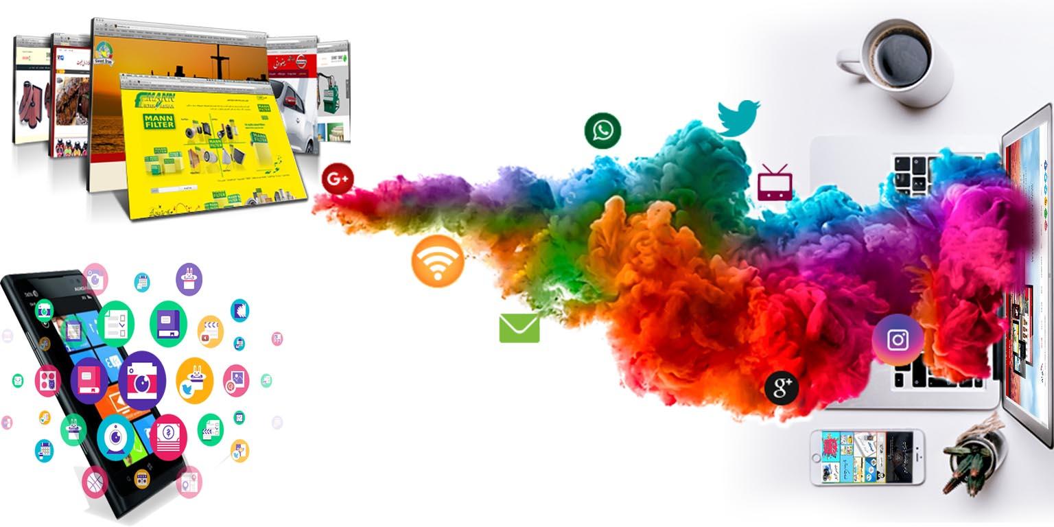 طراحی وب سایت و اپلیکیشن